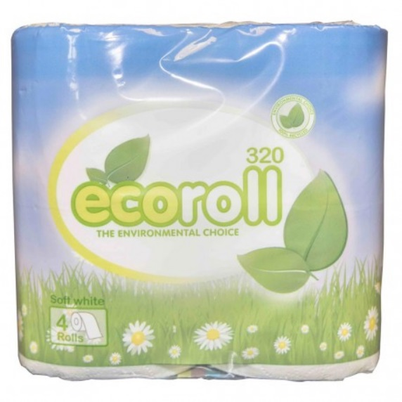 Eco Roll Toilet Roll 2ply White x 36 320 Sheet