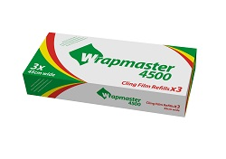 Wrapmaster Clingfilm 45cm Wide x 3 Rolls