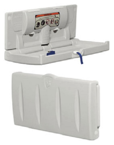 9ca01d9207d0 Baby Change Unit Horizontal, wall mounted baby change unit ...